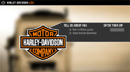 Harley-Davidson screenshot 1